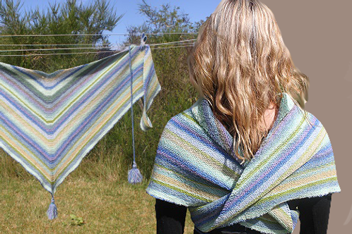PATTERN without yarn | WRAP of left-over yarns