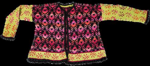 0d72b759 Jeg har designet denne jakke som en påmindelse om, at selvom torne og roser  uvægerligt hører sammen, så er det altid rosen (glæden), der skal have den  ...