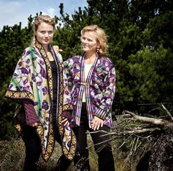 Christel Seyfarth FLORA sjal og jakk