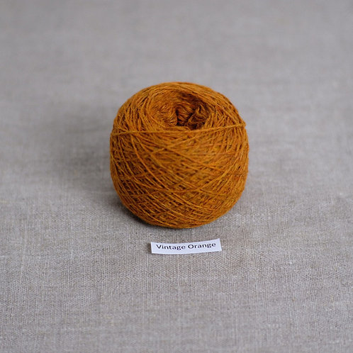 Vintage Orange - Lambswool