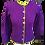 Thumbnail: CLASSIC Cardigan med fine snoninger - lammeuld