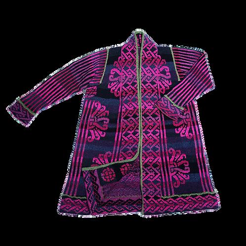 Tyrkisk frakke - pink