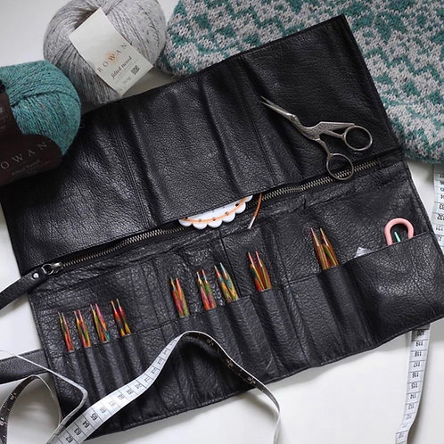 BAG/PURSE FOR KNITTING NEEDLES - MUUD