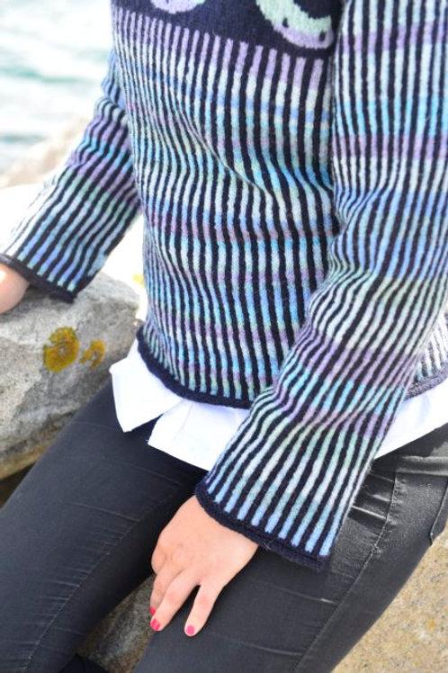 Koøjetrøje - marineblå