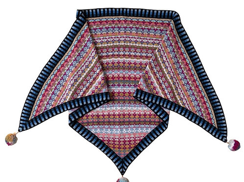 MONGOLIA sjal