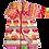 Thumbnail: FLOWER POWER Coat | Red