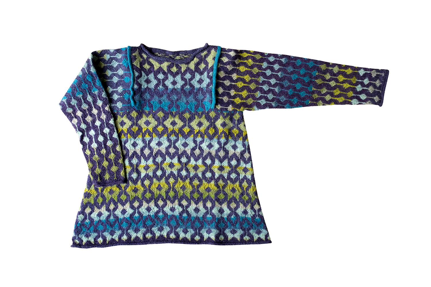 Christel Seyfarth sweater ocean