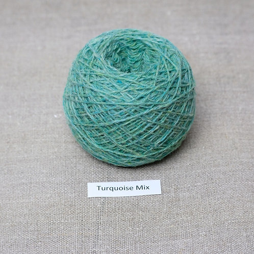Turquoise Mix - Cashmere Super Soft Blend