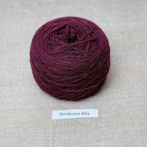 Bordeaux Mix - Lambswool