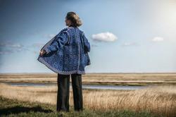Caledonia frakke by Christel Seyfarth