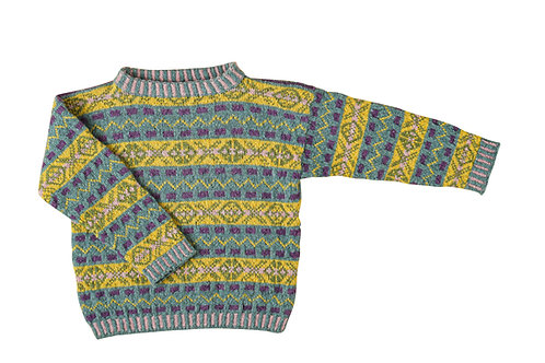 Fair Isle sweater for little boys