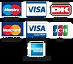 Betalingskort | webshop christel Seyfarth