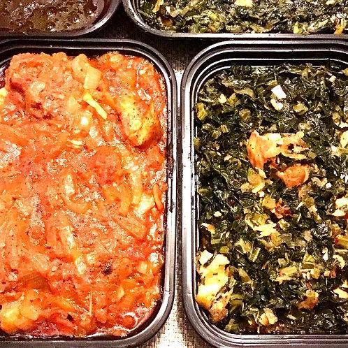 Frozen Liberia Dishes