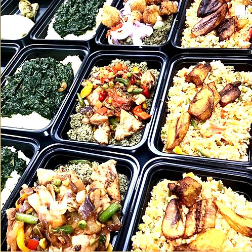 Single serving meals