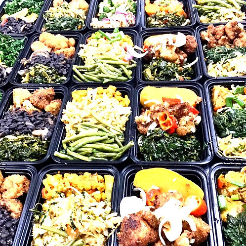 Monthly subscription Meal prep