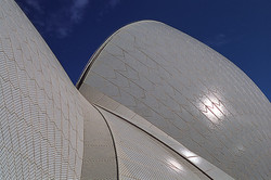 A4 Sydney Opera House roof