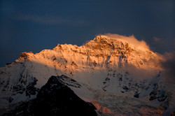 S22 Jungfrau alpenglow