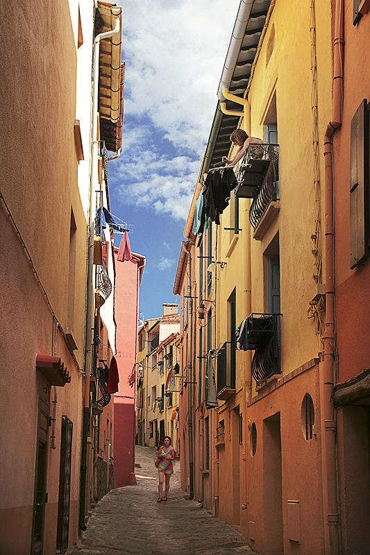 F18 Collioure, Rue de la Liberté