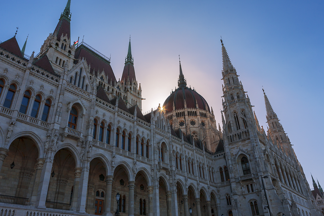 B3 Hungarian Parliament Building