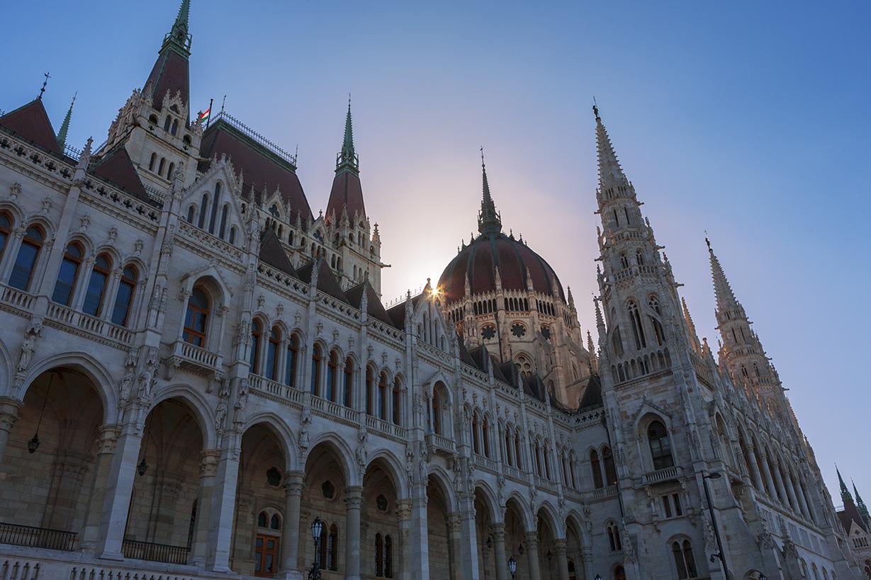 B3 Hungarian Parliament Building