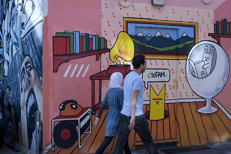 U19 Brighton graffiti