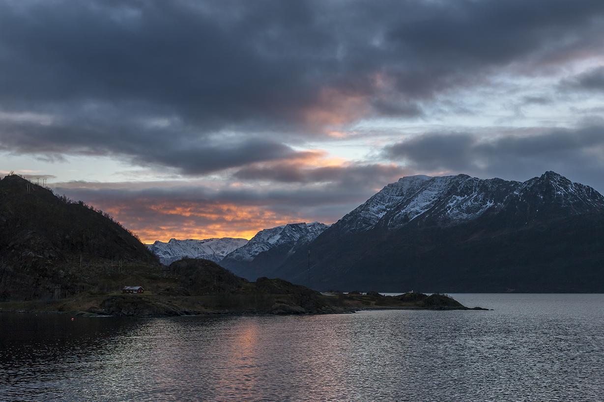 N10 Øksfjorden, Loppa Municipality, Vest-Finnmark, Northern Norway