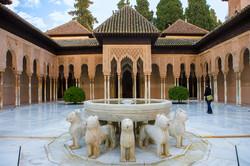 C6 Patio de los Leones, Alhambra