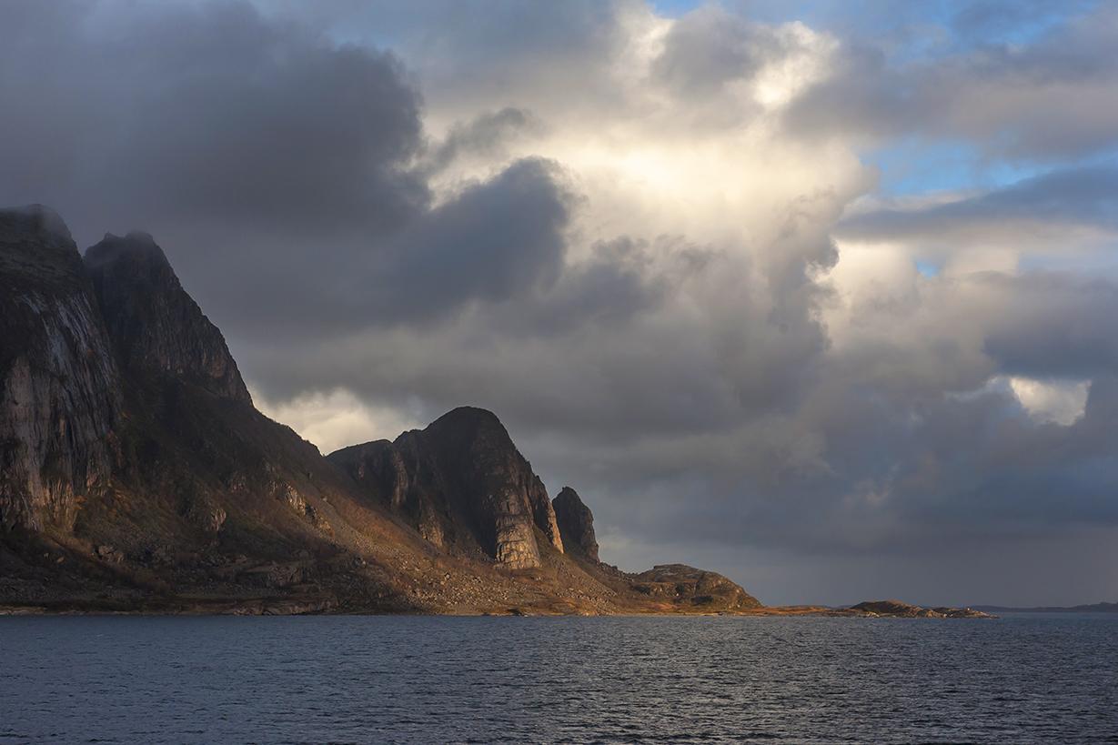 N14 The island of Fugløya, Nordland, Norway