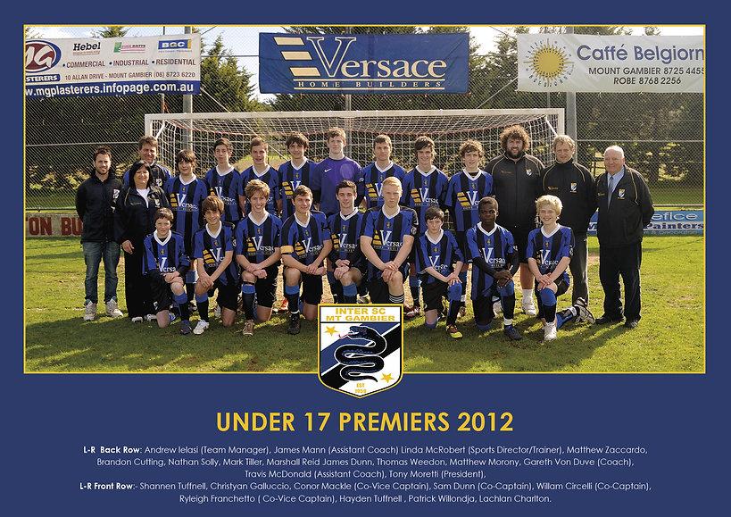 2012 - Under 17 Premiers.jpg