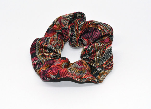 Printed Fabric Scrunchie