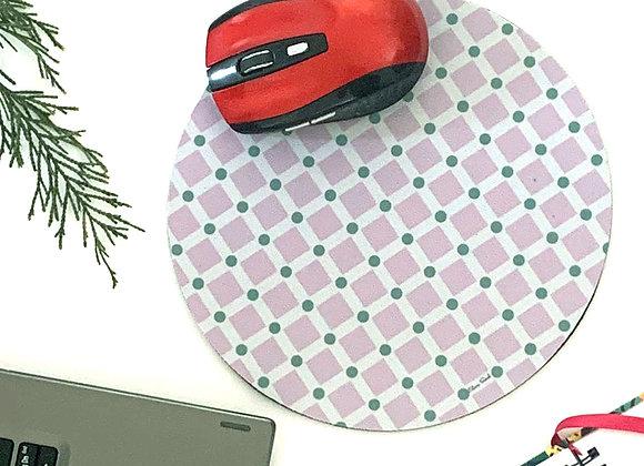 Tile Print Mousemat