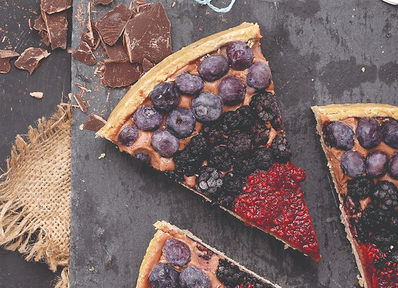 TARTA CHOCOLATE BERRIES