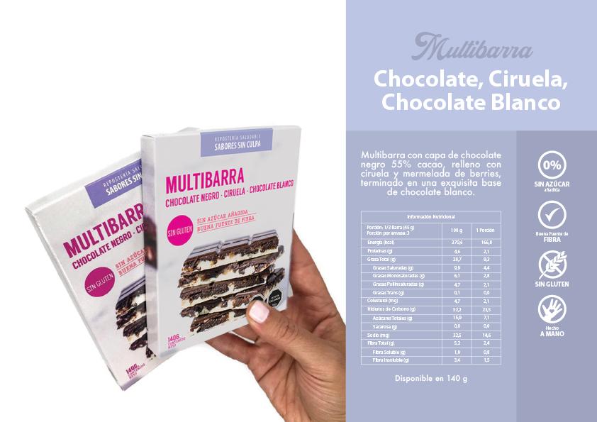CHOCOLATE, CIRUELA, CHOCOLATE BLANCO