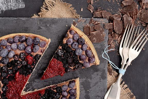 Tartas Sabores sin Culpa sin azúcar y sin gluten. Pastelería saludable vegana.