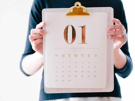 Resoluções para 2019: como se organizar para atingir suas metas?