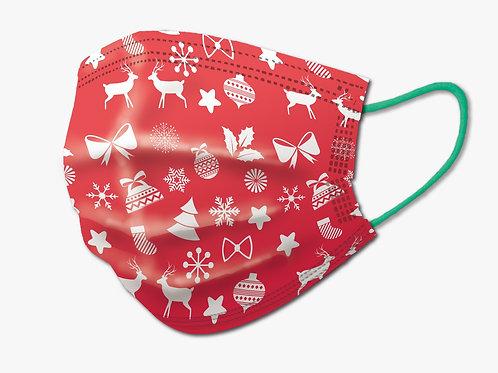 聖誕節限定版口罩(紅色)