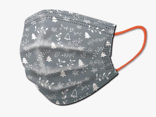 聖誕節限定版口罩(灰色)