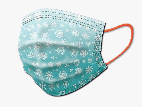 聖誕節限定版口罩(藍色)