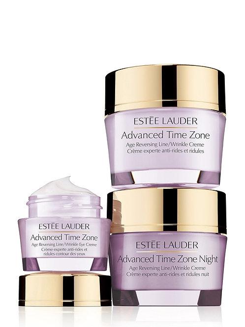 雅詩蘭黛 青春抗皺3件套(日霜+晚霜+眼霜) Estee Lauder Advanced Time Zone 3's Set