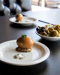 Tea Pickled Egg and Olives