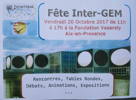 Fête Inter Gem à la fondation Vasarély