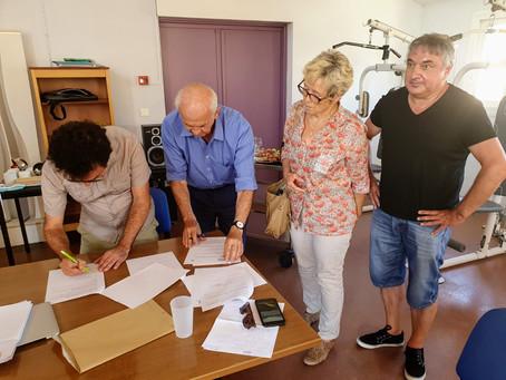 Signature des conventions de gestion avec l'association GEM-Club Parenthèse
