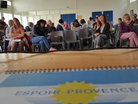 Intervention d'Espoir-Provence à l'UNAFAM dans le cadre de la SISM