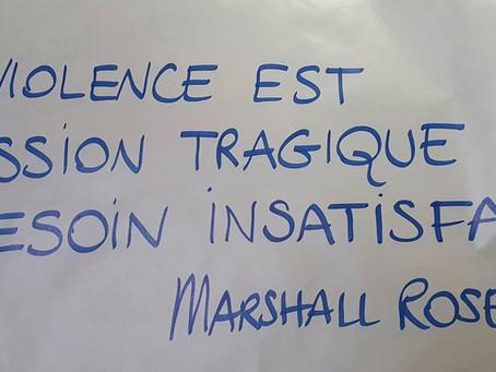 Communication non violente au Foyer L'Orée du Jour...