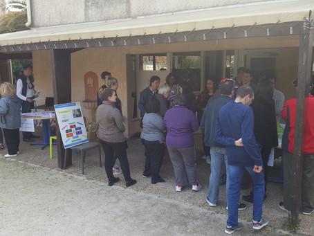Portes ouvertes au Foyer l'Orée du Jour à Aix en Provence dans le cadre de la SISM