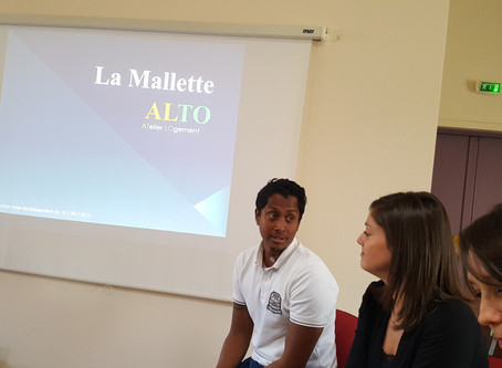 Présentation de la Mallette ALTO en rencontre Inter-établissement Espoir-Provence