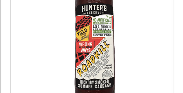ROADKILL!! Summer Sausage 6 oz.