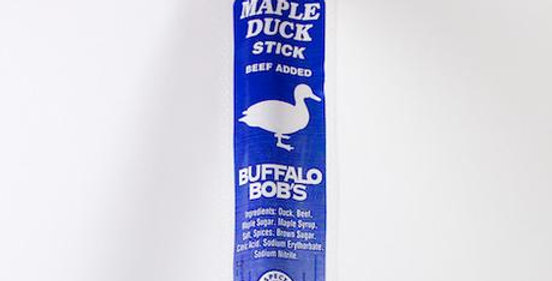 Duck Maple Jerky Stick