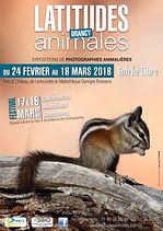 Affiche du festival des Latitudes Animales 2018