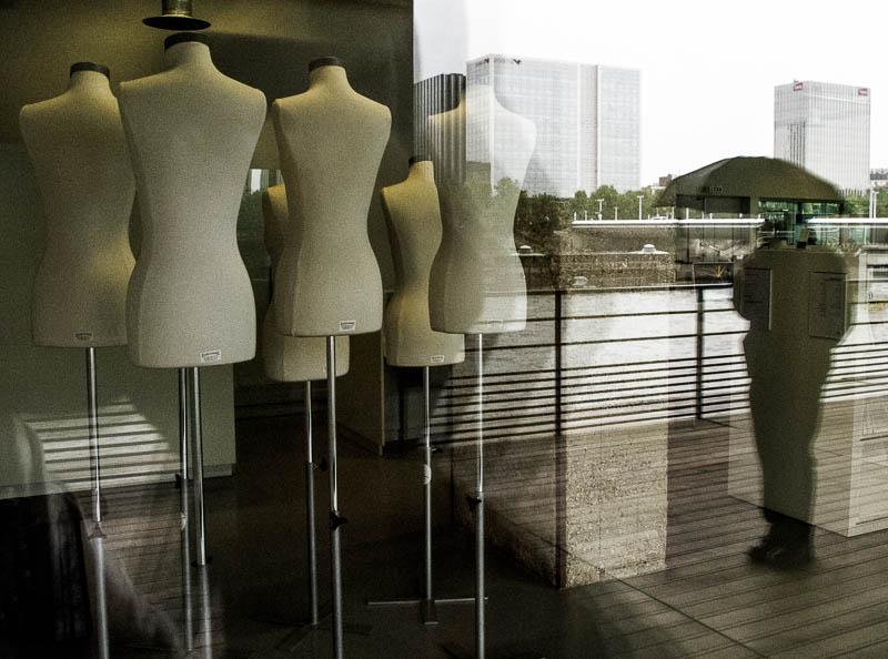 Watching Mannequins on the Seine